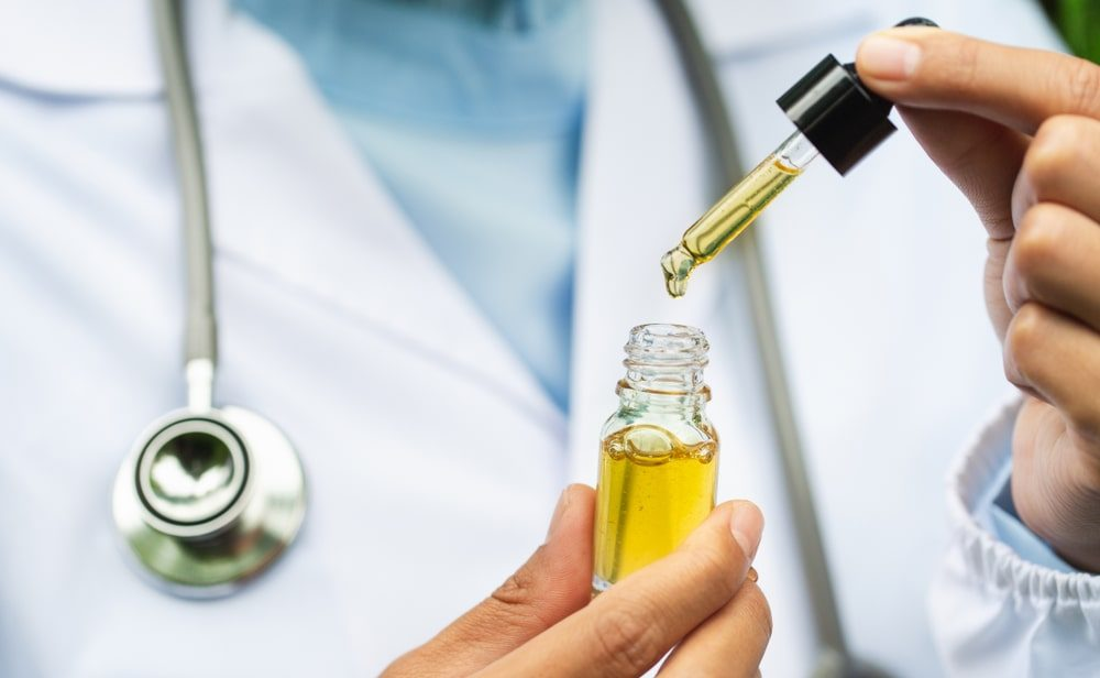 Scientist Studying Facts Abpit CBD Oil