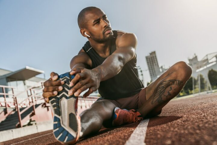 Both stretching and CBD are good for athletes